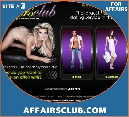 AffairsClub.comscreenshot img